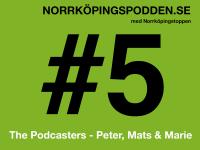 Norrköpingspodden #5 – 2014
