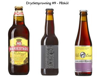 Dryckesprovning #9 Påsköl – lyssna på våra tips:-)