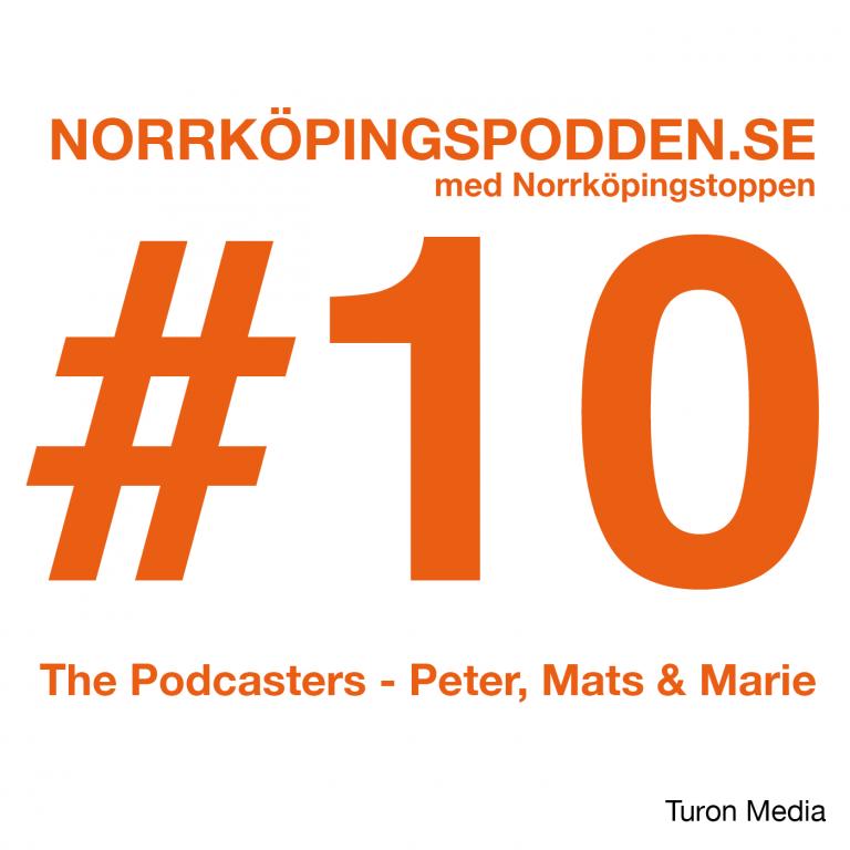 Norrköpingspodden #10 med Norrköpingstoppen
